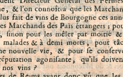 Burgundy vs. Champagne: An 18th Century Flame War